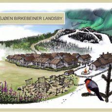 Birkeby, fjellandsbyen i Natrudstilen, planen er godkjent!